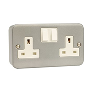 Click Metal Clad Socket Outlets