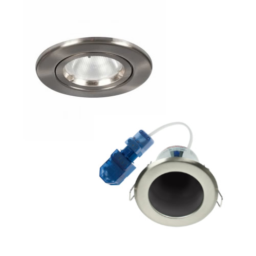 Fire Rated GU10 Mains Downlights