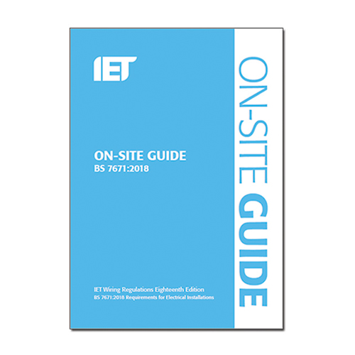 IET 18th Edition Blue On-Site Guide