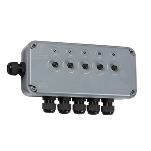 Knightsbridge IP66 13A 5G Switch Box IP5G