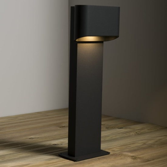 KSR Orsay 9W LED 3000K 500mm Anthracite Bollard KSR7152