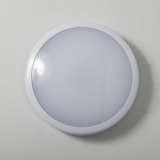 KSR Roma 12W IP54 4000K LED White Surface Bulkhead KSRSF280