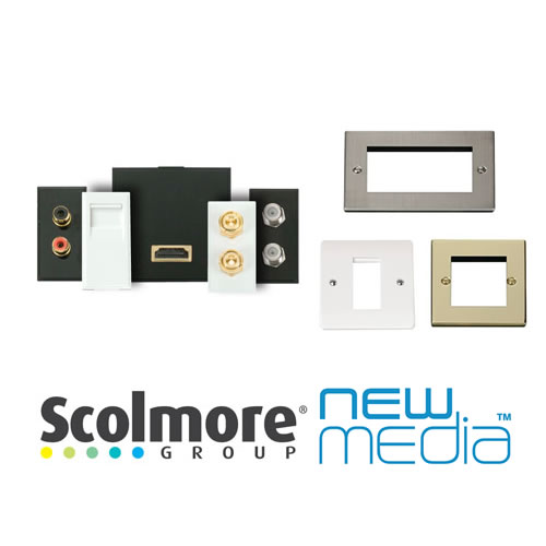 Click New Media Plates & Modules