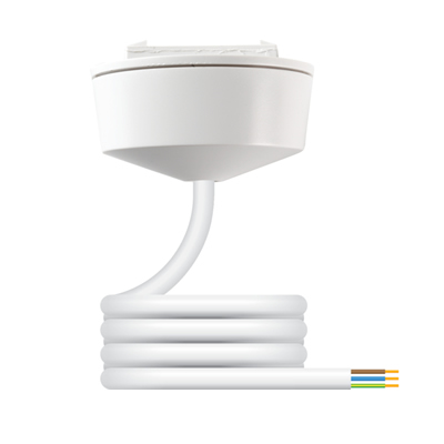 Hager Klik CR64AX Pre-wired Plug-in Ceiling Rose with 2M Flex