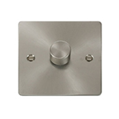 Brushed Steel Dimmers